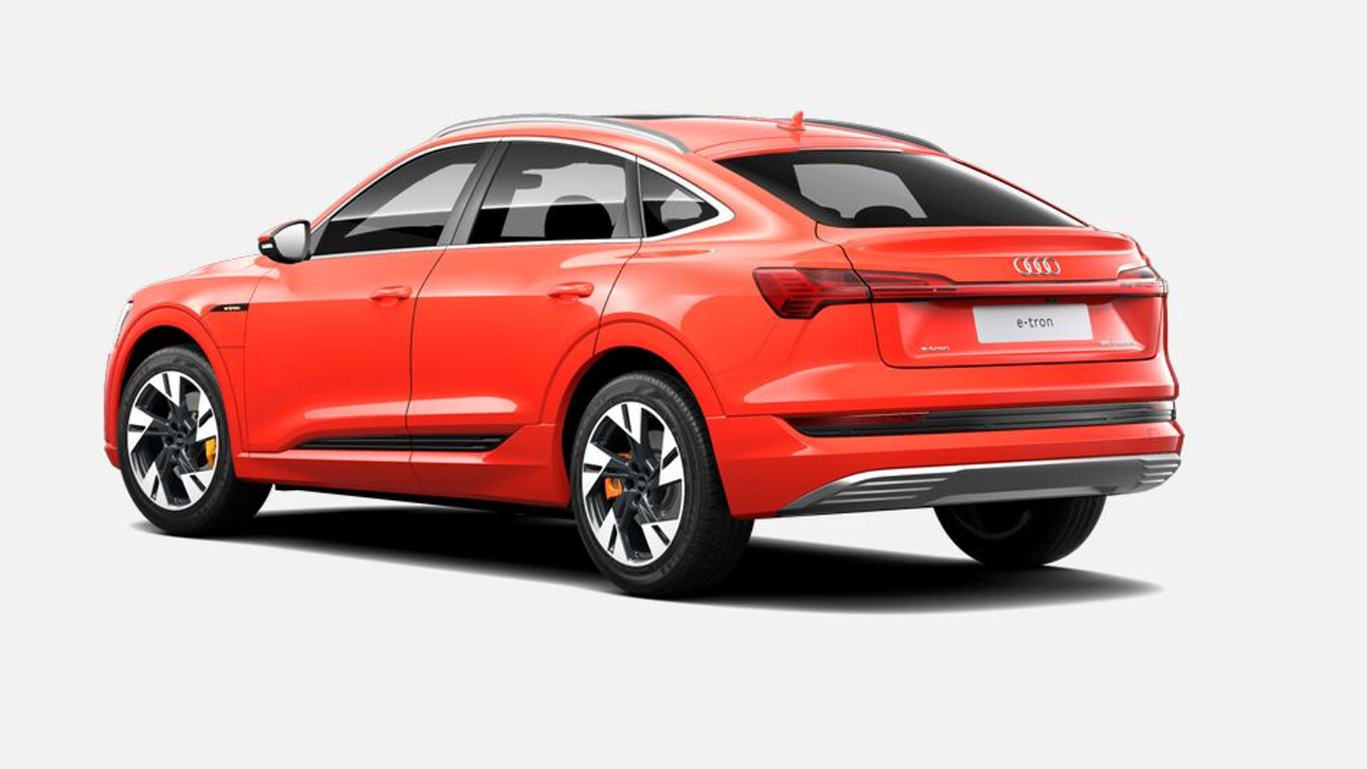 Audi e-tron Sportback 2021-55 Exterior