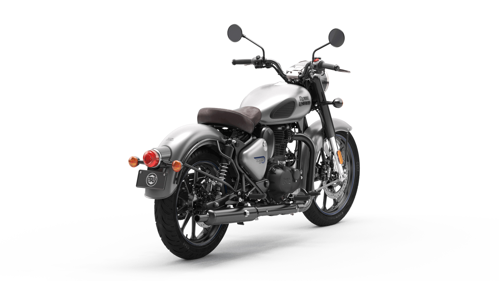 Royal Enfield Classic 350 2021 Dark Series With Dual-Channel