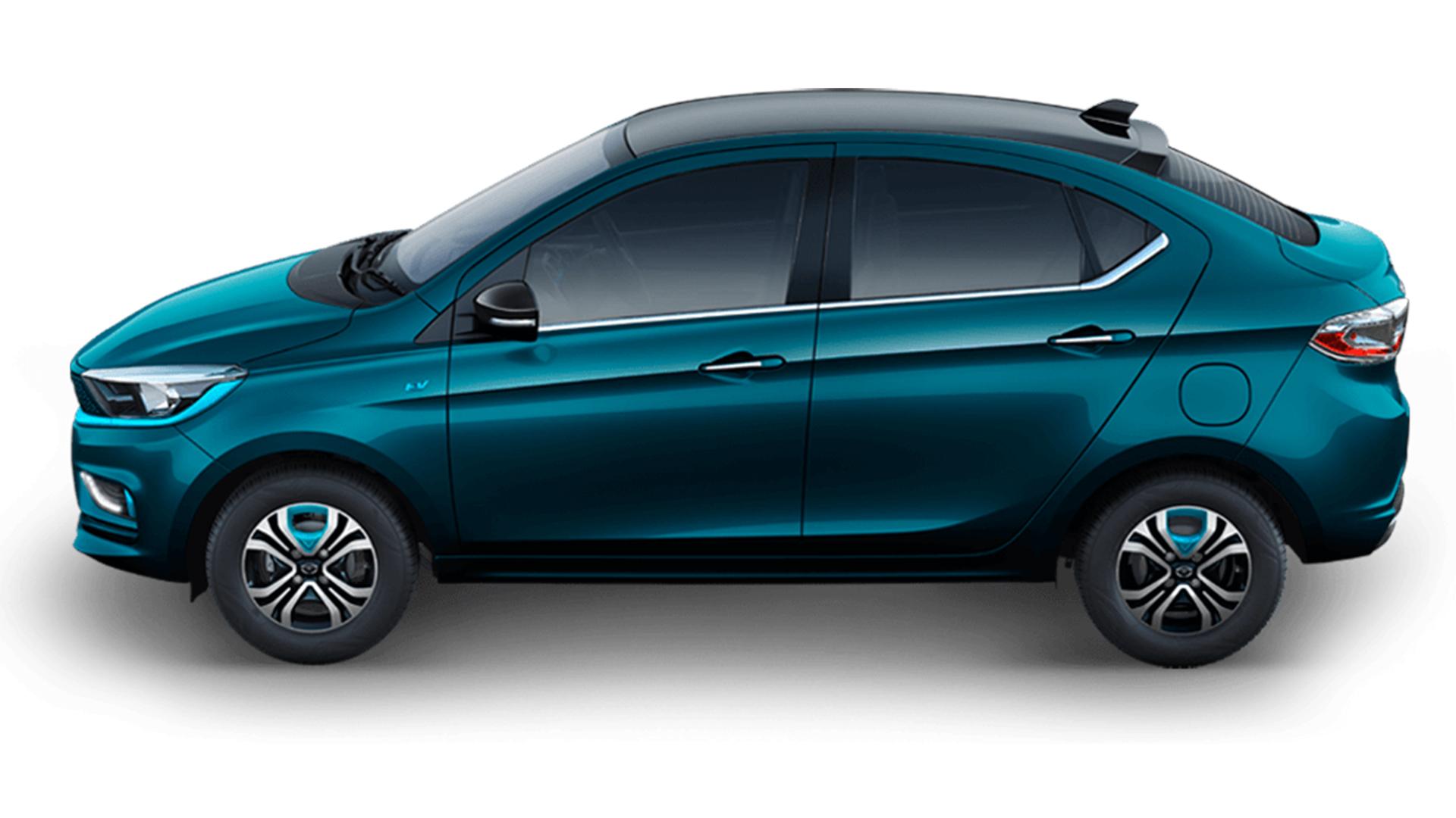 Tata Tigor EV 2021 XZ Plus Dual Tone Exterior