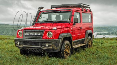 Force Gurkha 2021 2.6 Diesel Exterior