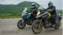 Comparison test: CFmoto 650MT vs Suzuki V-Strom 650 XT