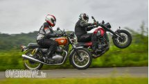 Royal Enfield Interceptor 650 vs Benelli Leoncino 500