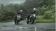 Comparison test: Suzuki Gixxer 250 vs Bajaj Dominar 400
