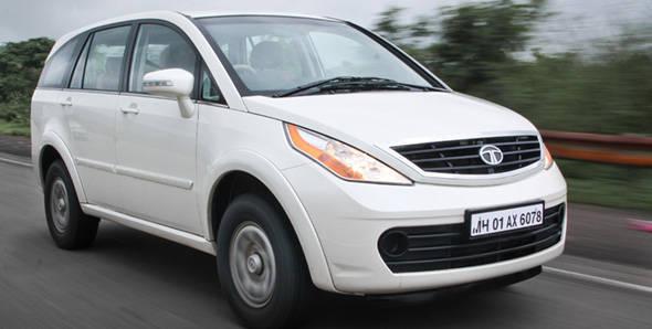 Tata Aria 4x2 driven
