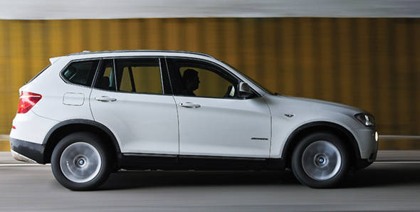 2011 BMW X3 roadtest
