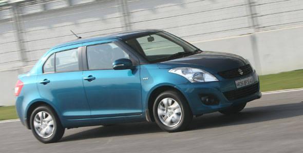 2012 Maruti Swift Dzire first drive