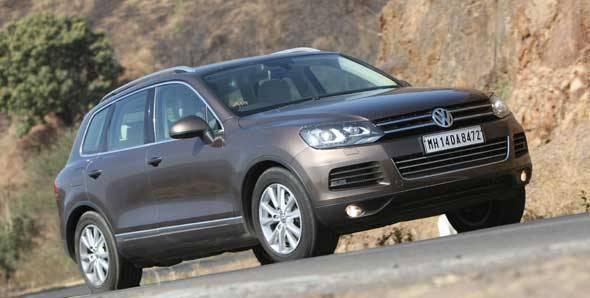 2012 Volkswagen Touareg road test