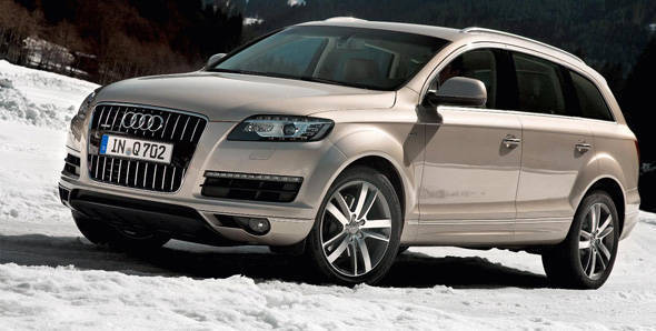 Image of the current Audi Q7 used as reference