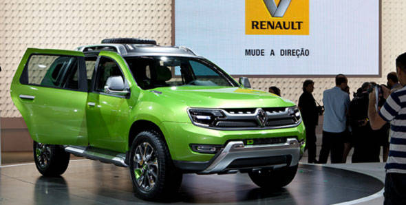 Renault to showcase new concept car and Dacia Duster in Frankfurt this year