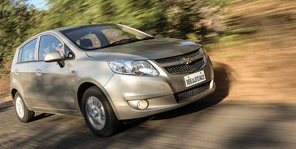 2013 Chevrolet Sail U-VA in India road test