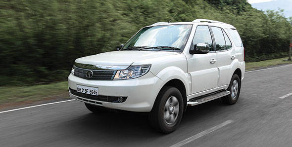 2012 Tata Safari Storme in India first drive