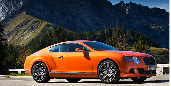 2013 Bentley Continental GT Speed first drive