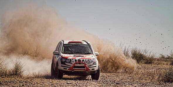 Can Gaurav Gill pilot his XUV to the 'fastest car of the rally' title once again?