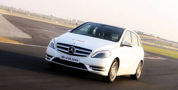 2012 Mercedes-Benz B-Class in India road test