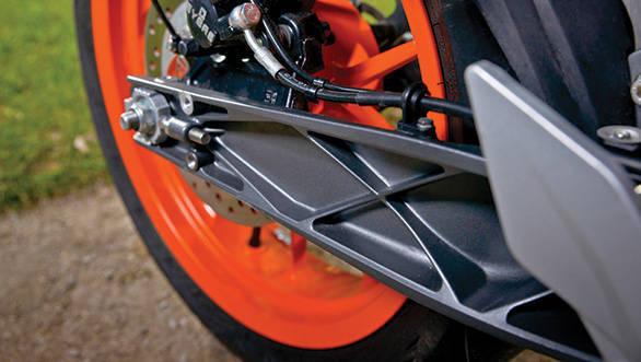 2013 KTM 390 Duke wheel