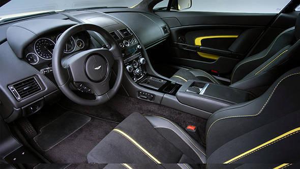 2013 Aston Martin V12 Vantage S interiors