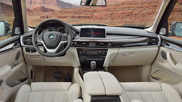 2014 BMW X5 interiors