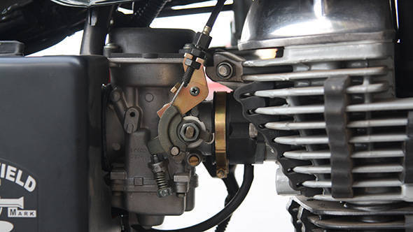2013 Royal Enfield Bullet 500 engine