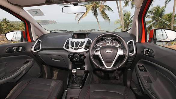 The 2013 Ford EcoSport interiors are befitting of the exteriors