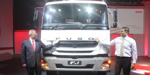 DICV rolls out FUSO trucks in India