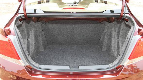 2013 Honda Amaze boot space