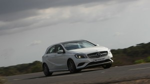 2013 Mercedes-Benz A-Class tested in India