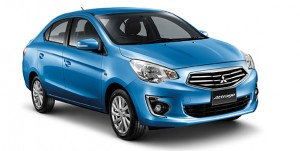 Mitsubishi debuts new Attrage global sedan