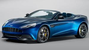 Aston Martin unveils Vanquish Volante
