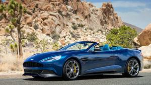 Aston Martin Vanquish Volante will debut at Pebble Beach