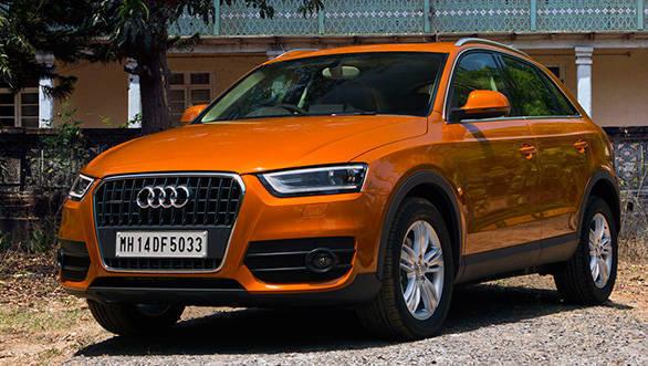 2013 Audi Q3 in India
