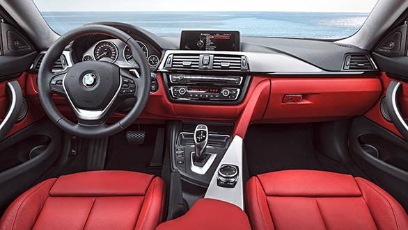 2014 BMW 4 Series interiors