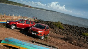 Renault Duster dCi vs Ford EcoSport TDCi