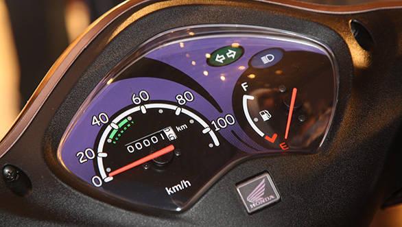 2013 Honda Activa-i meter dials