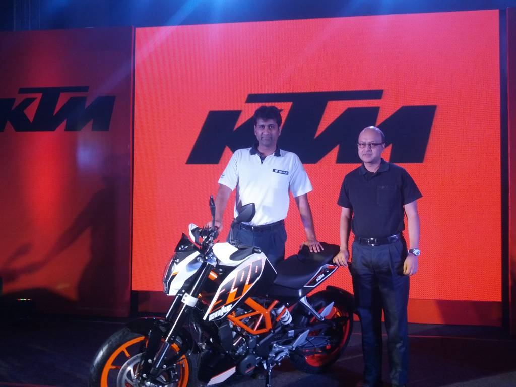 KTM 390 Duke India Launch