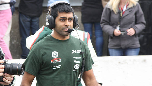 Karun Chandhok at the 2013 Le Mans