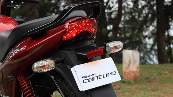 The Centuro's rear suspension has been reworked to give a supple ride quality