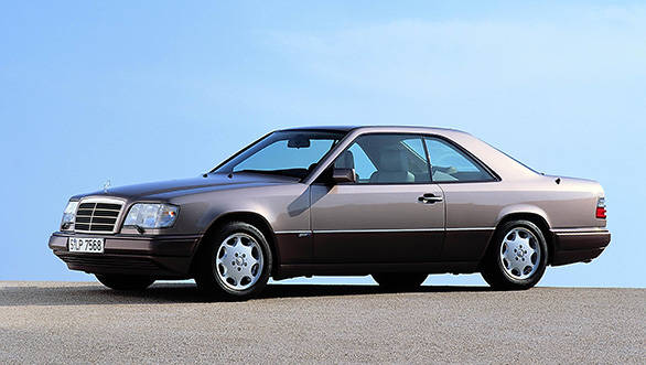 1993 Mercedes W124 coupe