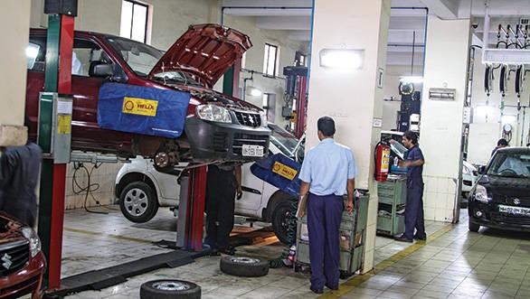 Quick service offered by Maruti Suzuki