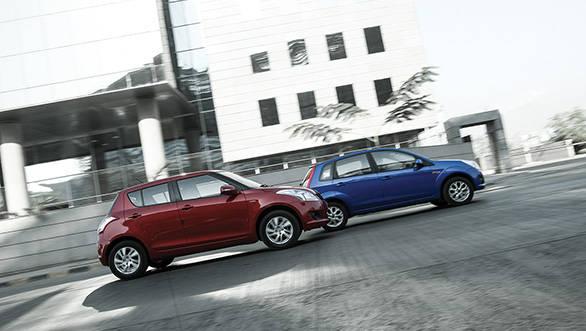 2013 Maruti Swift vs Ford Figo