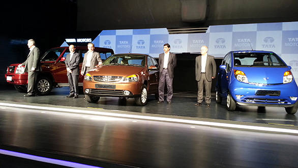 The updated Tata Nano, Indigo eCS and Sumo Gold