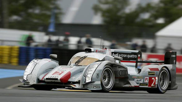 Audi's winning number two car