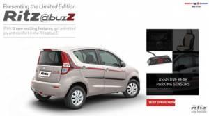 Maruti launches limited-edition Ritz @Buzz