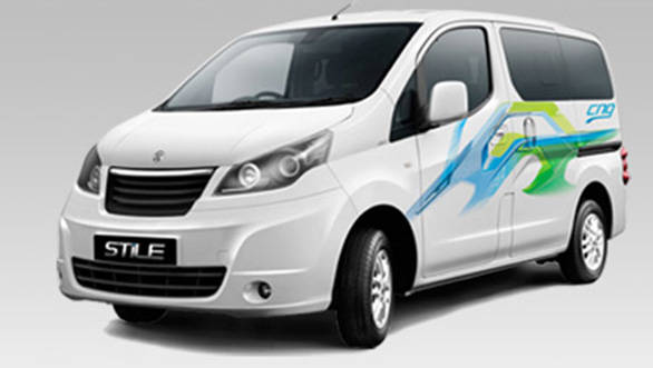 The Ashok Leyland Stile will look identical to the Evalia save for the badge and graphics