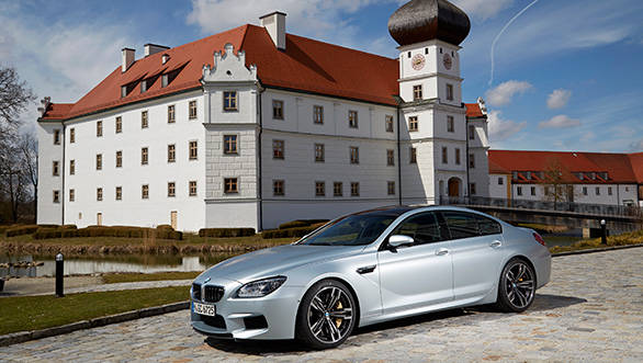 The M6 Gran Coupe looks a sleeper version of the regular 6 Gran Coupe