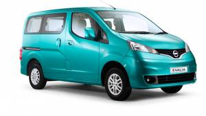Nissan to launch refreshed Evalia in October