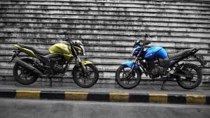 2013 Honda CB Trigger vs Yamaha FZ-S