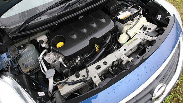 NIssan's 1.5-litre petrol gives the highest power among the three cars
