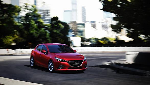 The 2014 Mazda3 hatchback