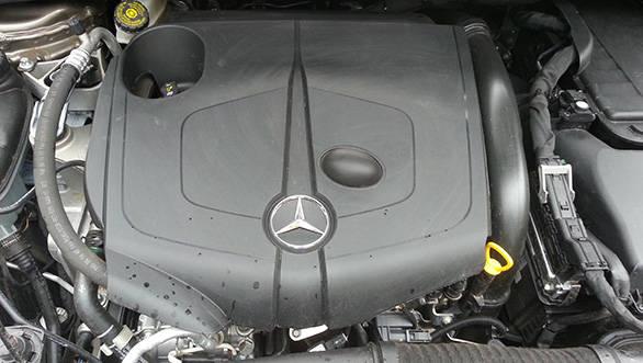 The 2.1-litre four cylinder diesel engine