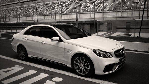 Claimed 0-100kmph time of the E63AMG is 4.2 seconds